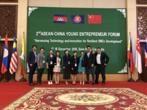 Miao has participated the 2nd ASEAN China Young Entrepreneur Forum